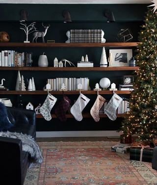 Une décoration de Noël branché