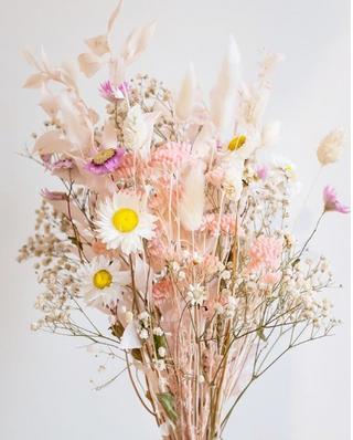 tendances déco : fleurs séchées