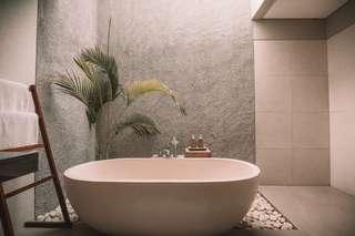 Une baignoire, pour un moment de détente dans sa nouvelle maison