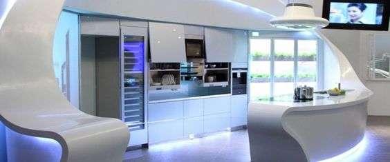 L'emergence des cuisines connectées dans les logements.