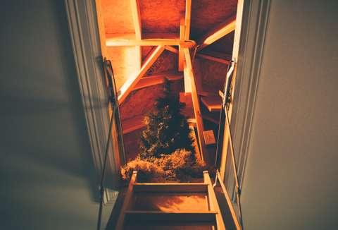 Un escalier est indispensable pour faciliter l'accès