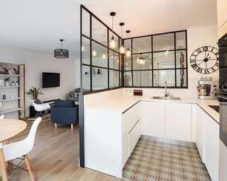 Adoptez la verrière dans votre cuisine !