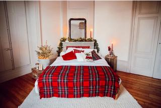 Une chambre aux couleurs de Noël
