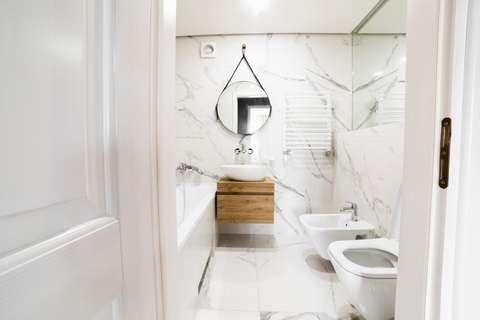 Une salle de bain en parfait état est un avantage pour la maison