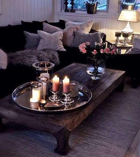 Multipliez les bougies pour créer une ambiance romantique