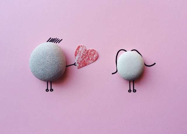 Une décoration pour la Saint-Valentin et qui dure tout au long de l'année