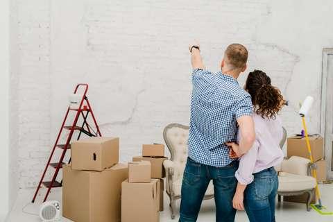 La rénovation avant l'emménagement est une excellente solution